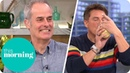 Phil Vickery's Perfect Apple Raspberry Crumble This Morning with John Barrowman and Holly Willoughby
