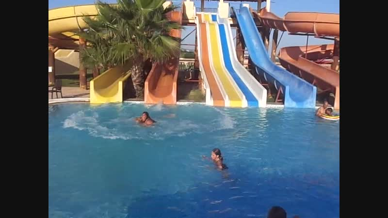 Тунис,Хаммамет. Gawai beach отельРазвлекаемся)