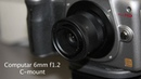 $18 Computar 6mm f1.2 CCTV lens on Panasonic Lumix GH2
