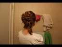 Halloween Princess Series: Hermione Granger's Yuletide Ball Updo (Inspired).