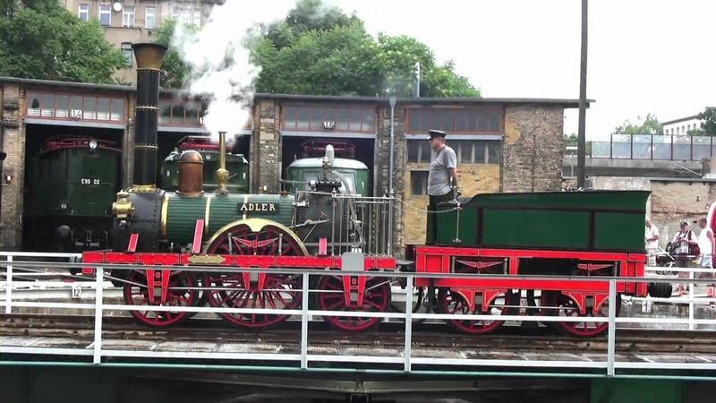 Dampflok - ADLER - Steam Train - Zug