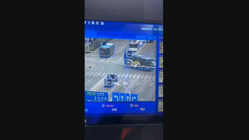 Уличная система видеонаблюдения в Китае