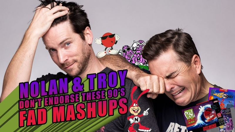 Nolan North Troy Baker Don't Endorse These 90's Fad Mashups