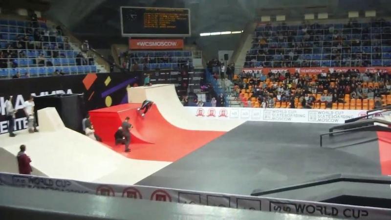 Чемпионат мира по скейтборду скейтбординг World Cup of Skateboarding moscow 2015