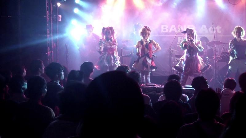 バンド演奏 超時空要塞マクロスΔOP「いけないボーダーライン」 HDx男座