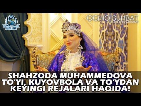 Shahzoda Muhammedova to'yi, kuyovbola va to'ydan keyingi rejalari haqida!