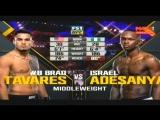 Brad Tavares vs Israel Adesanya