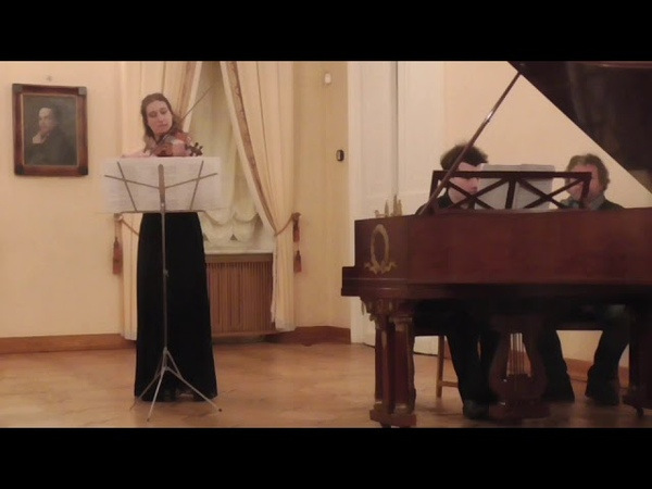 K.Alexeev, K.Suhova. Frank. Sonata for violin and piano . 3 mov.