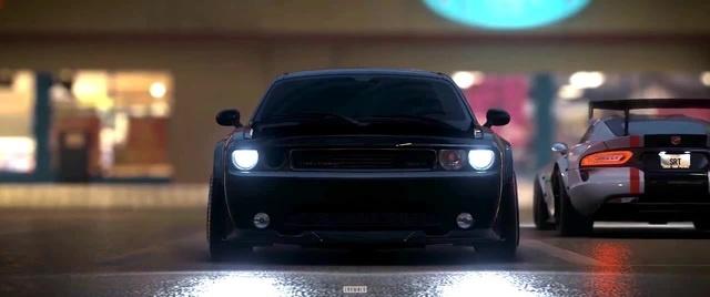 American car coub