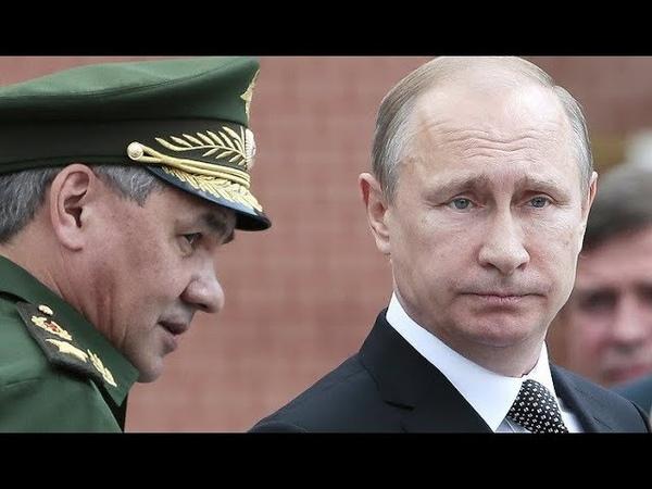 Шойгу готовится взять власть после Путина