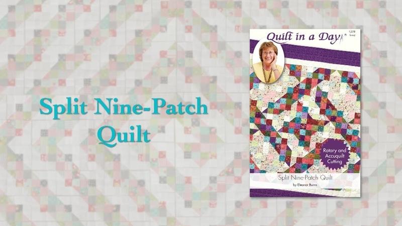 Block Party December Split Nine-Patch Quilt
