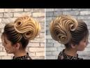 Asimetrik Topuz Saç Modelleri Yapımı