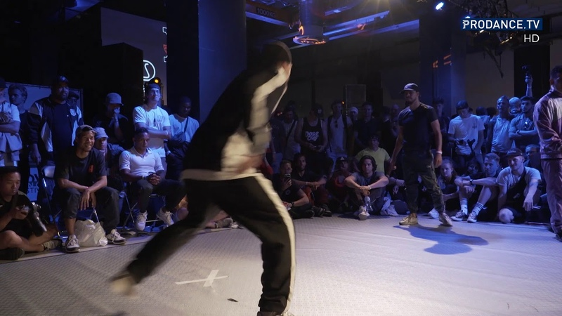 Uzee Rock Tip Top T vs Lil G Mini Joe Gajes Cypher World Bboy Classic 2018 Qualifier