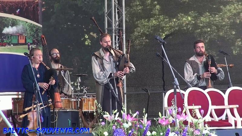 Этно-Фолк-Фестиваль в Курляндии, Концерт