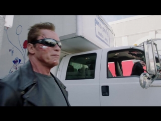 Arnold Pranks Fans as the Terminator...for Charity.mp4