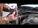 Ремонт и замена топливонго фильтра на Audi A6 C4 Ауди А6