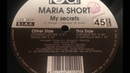 Maria Short - My Secrets