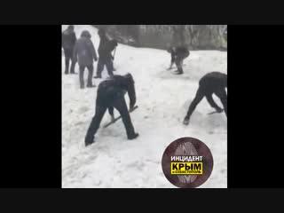 Кто еще хочет в горы Крым инцидент снегопад Ай-Петри!!!