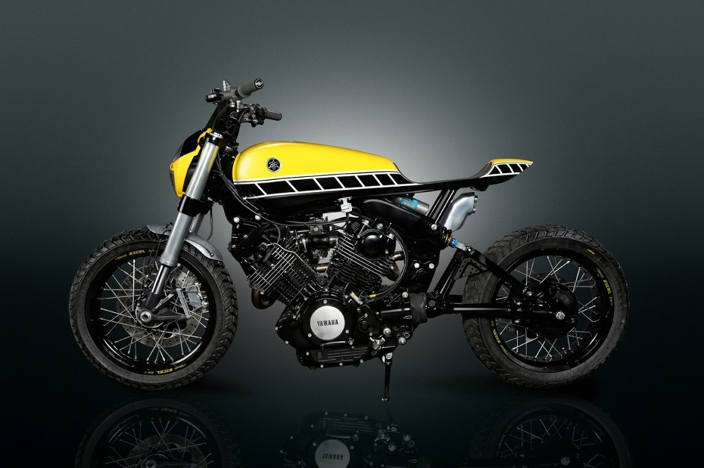 Thornton Hundred Motorcycles: стрит-трекер Yamaha XV750 Virago 1983