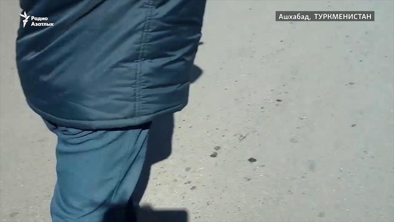 Түрікмен полициясы әйелдердің көлік жүргізу куәлігін тартып алып жатыр