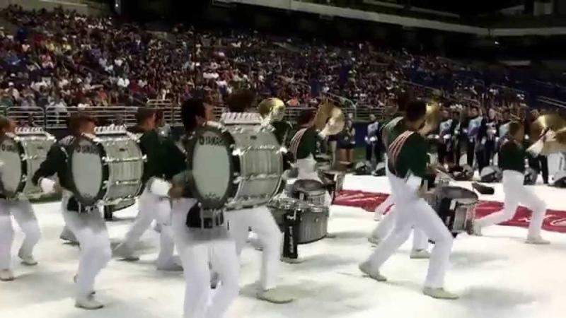 DCI Southwest Championship DrumLine Battle - Madison Scouts vs Crossmen