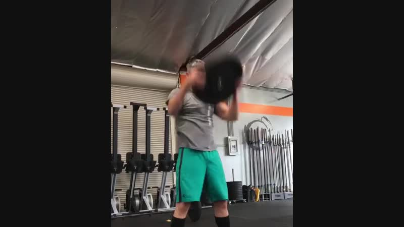 Тренировка CEO World Gym International Guy Cammiller