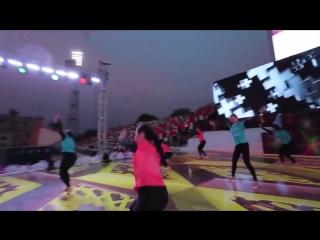 Шахзода на гала концерте с участием звёзд узбекской эстрады...