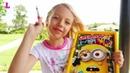 Детская игра операция Миньон/Настольная ирга для детей/Unpacking the game Operation