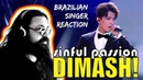 Rock Singer Reacts DIMASH! SINFUL PASSION (SUBS)