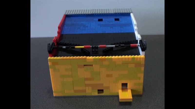 Автомат для игры в футбол (Самоделки из Лего - Lego)