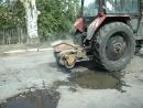 26 июня в г. Комсомольское начался текущий ремонт автодорог
