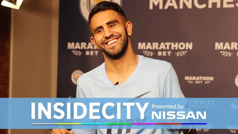 RIYAD MAHREZ FIRST DAY BEHIND THE SCENES! | Inside City Special