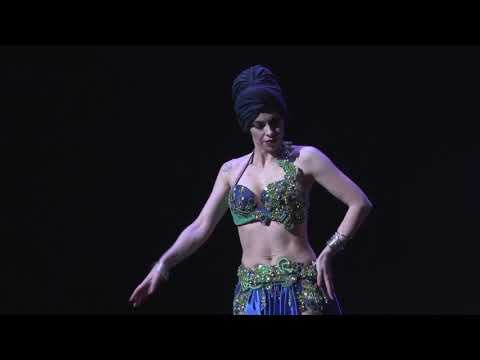Esmeralda Colabone : Drum solo : BellyDance FestivalCompetition-TheONE-2017