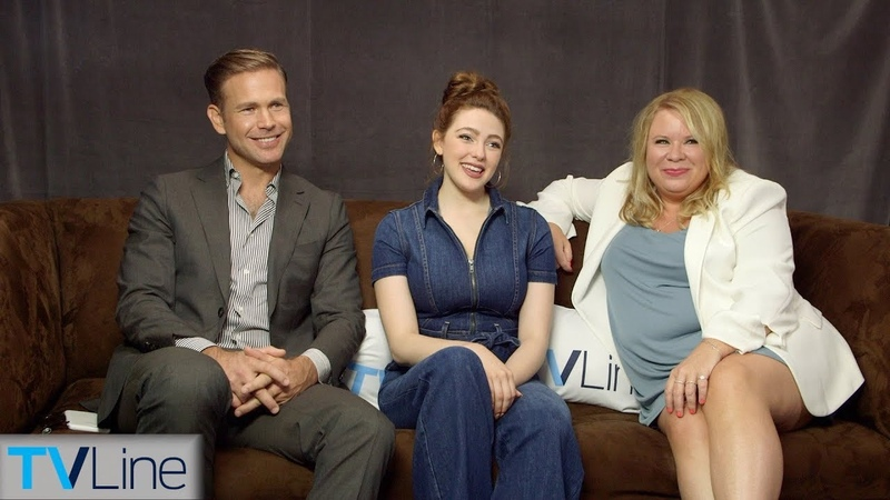 Legacies Cast Julie Plec Interview | Comic-Con 2018 | TVLine
