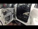 Toyota Land Cruiser Prado шумоизоляция четырёх дверей. В итоге - в салоне тише, автозвук лучше