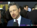 2nd interview James McAvoy at the GLASS premiere in NYC