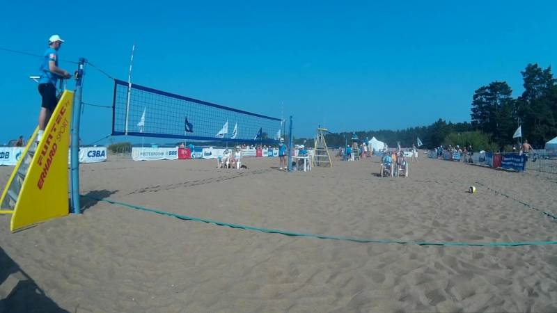 Beach volley Russia Solnechnoe 2018 W 02 Soldatova-Vasilyeva and Novikova-Sukhoverhova