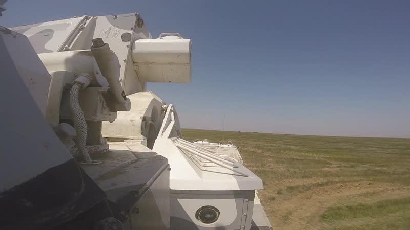 Стрельбы из арктических ЗРК «Тор-М2ДТ» на полигоне Капустин Яр
