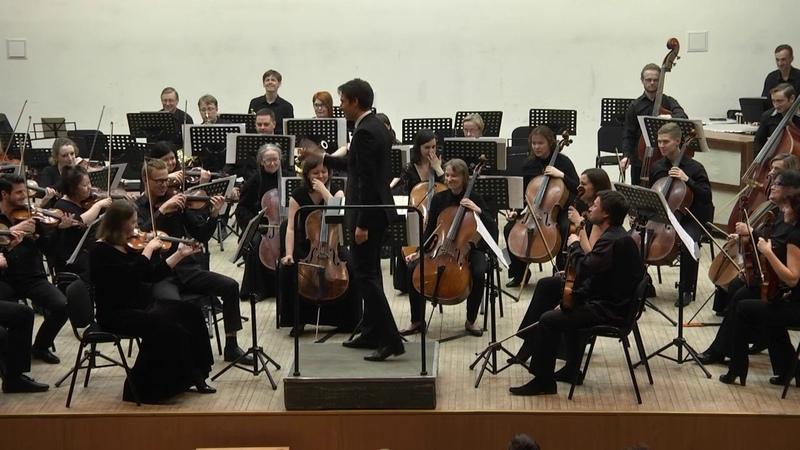 Гайдн 6 я часть симфонии №60 Симфонический оркестр Карельской филармонии, дирижер Мариус Стравинск
