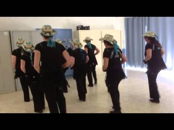 TURN IT ON, TURN IT UP, TURN ME LOOSE- HEIDI HAUGE - LINE DANCE