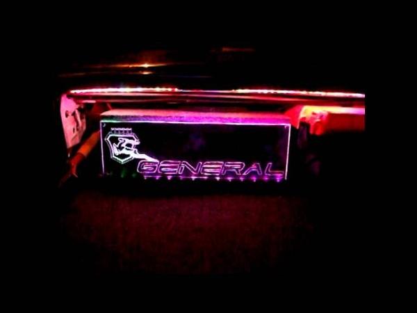 Сабвуфер - подсветка RGB