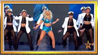 Este HOMENAJE a CHRISTINA AGUILERA se lleva un PASE de ORO   Audiciones 9   Got Talent España 2019