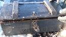 Ящики с оружием и боеприпасами прямо подо льдом Находки на металлоискатель и поисковый магнит