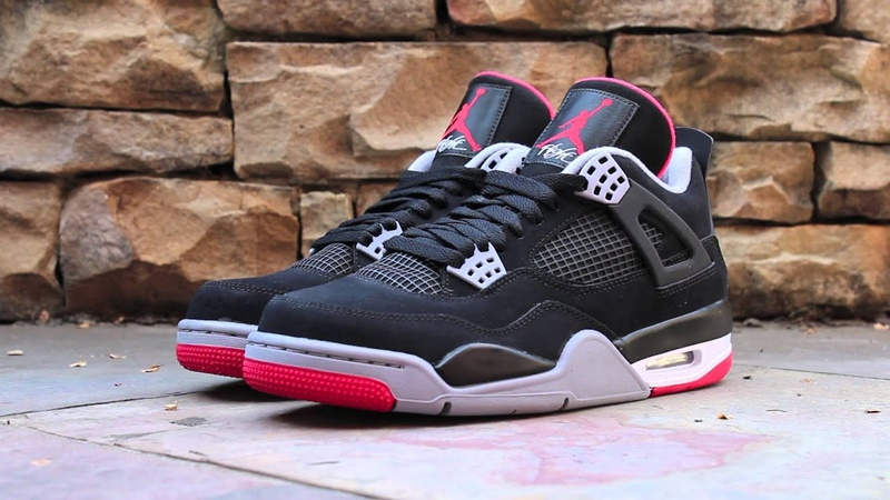 Review Jordan 4 Retro Bred