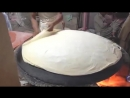 Street Food In Karachi Pakistan samosa and Vegetable Roll Covering Roti without Music