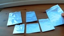 Пакеты зип-лок (грипперы) многослойные фольгированные.