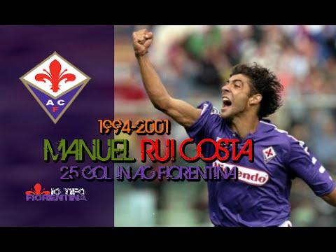 ⑩ Manuel Rui Costa ● Top 25 Gol with AC Fiorentina