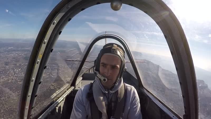 Первое пилотирование самолета ЯК-52