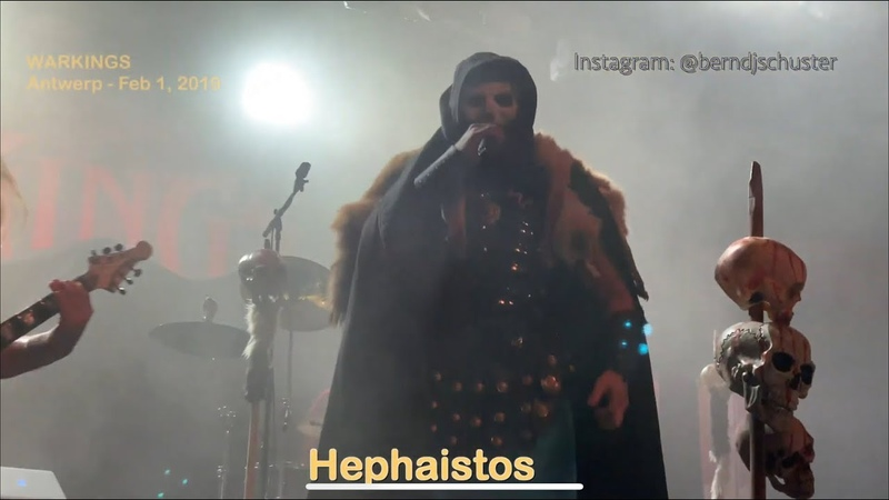 Warkings - Hephaistos @Trix Antwerp - Feb 1, 2019 - 4K LIVE