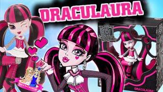 ПОДАРИЛИ ДРАКУЛАУРУ? Обзор на виниловую фигурку Монстер хай Дракулауру (Draculaura)/Review